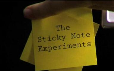 Sticky Note experiment