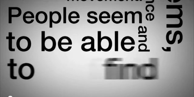 Stephen Fry Kinetic Typography - Language